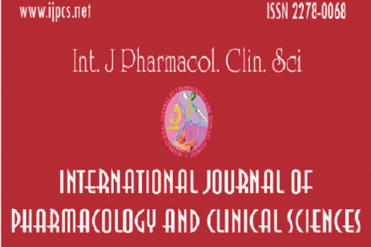 International Journal of Pharmacy and Health Sciences