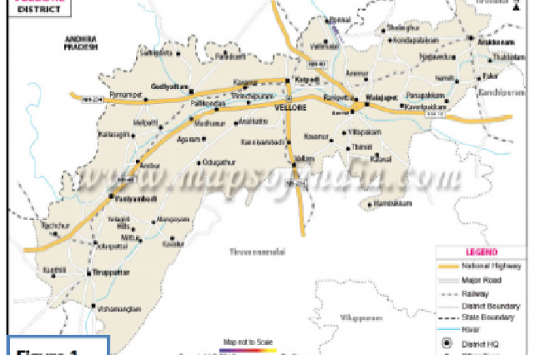 The district is the third larges tin population in Tamilnadu,