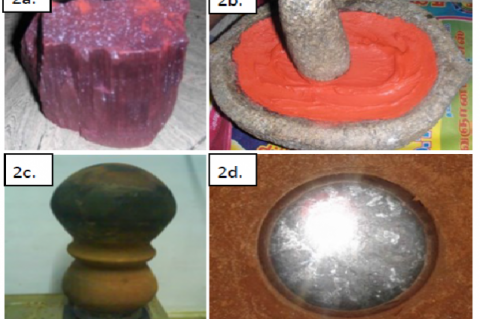 Extracting mercury from cinnabar using traditional mud made sublimation apparatus