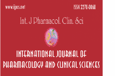 International Journal of Pharmacology and Clinical Sciences: A knowledge base for Scientific Enquiry and Better Patient Care